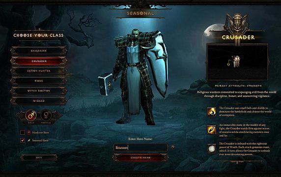 Diablo III, gear