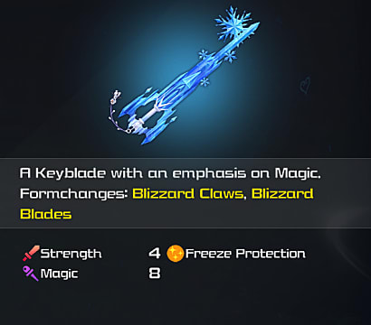 kh3 crystal snow keyblade