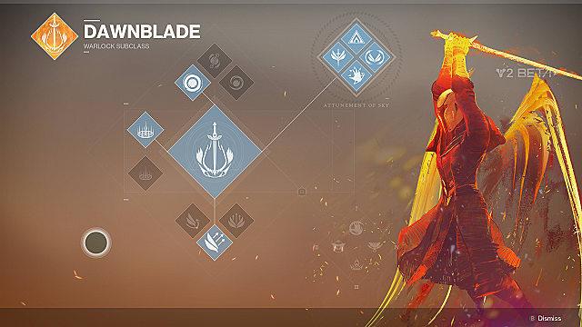 destiny 2 beta dawnblade warlock