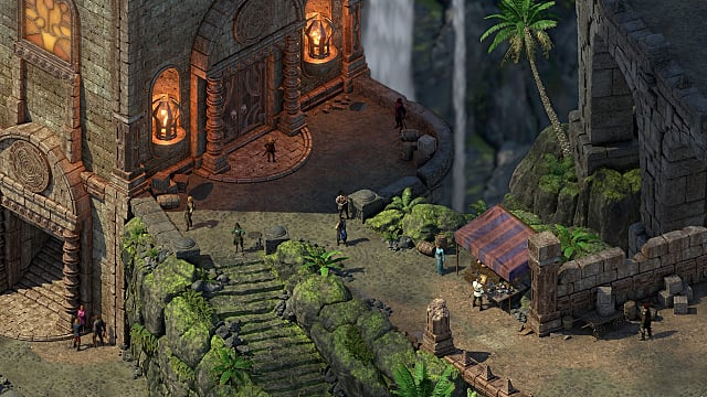 screen shot from Pillars of Eternity 2