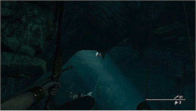 The location of the fifth whistle in the dark challenge