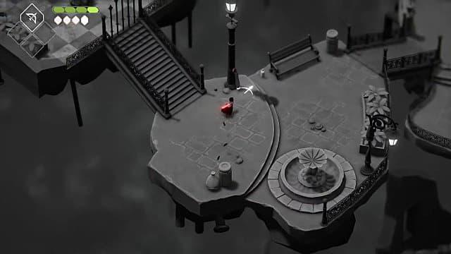 Where to get the umbrella in Death's Door