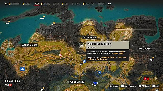 Perros Demoniacos map location.