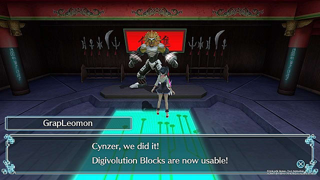 digimon world next order digivolution blocks