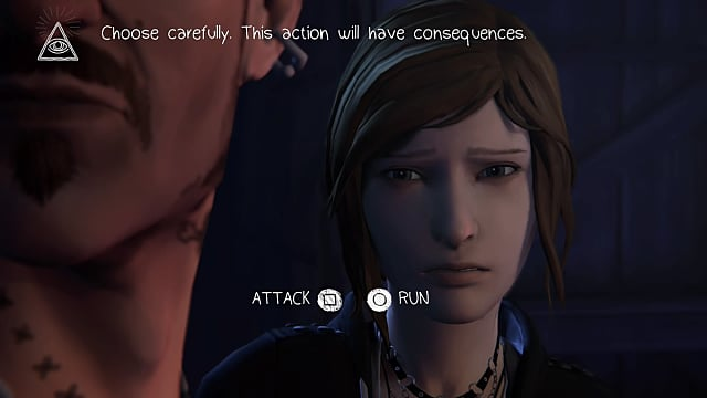 Attack or Run All Episode 1 Choices Life is Strange Before the Storm Guide
