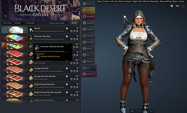 What's with Black Desert Online's cash shop? ($32 for one costume