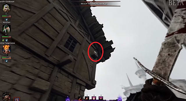 the location of the second empire in flames grimoire in vermintide 2