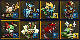 Endless Frontier, units