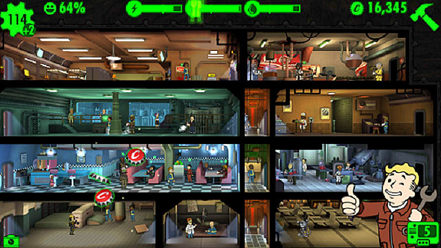 Fallout Shelter Move Room