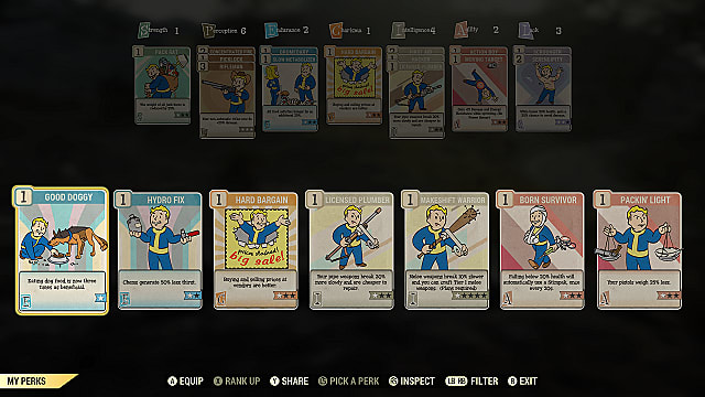 The Perk System in Fallout 76 Explained