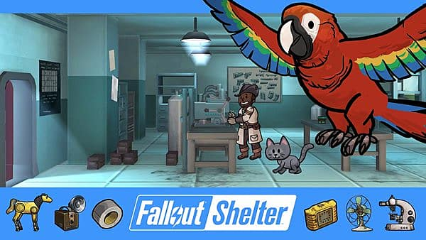 Fallout Shelter has new rooms and more available for your Vault