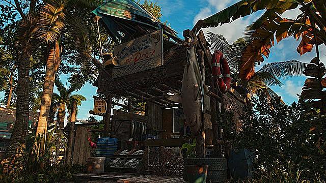 The fishing hut guerilla camp upgrade.