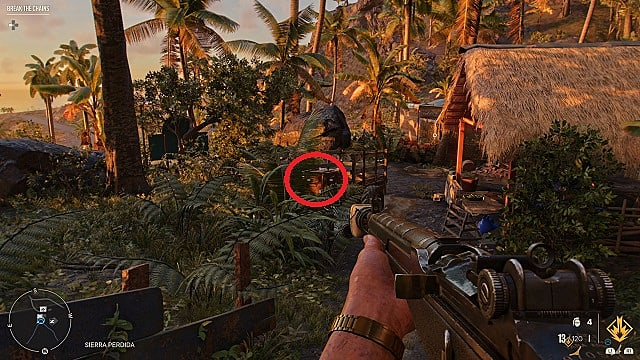 Screenshot of La Bala De Plata's in-game location.