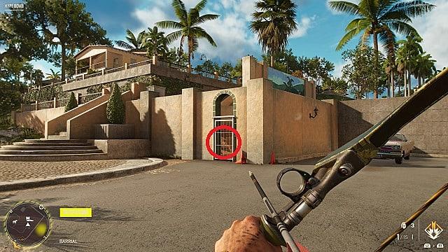 Screenshot of El Fenix's in-game location.