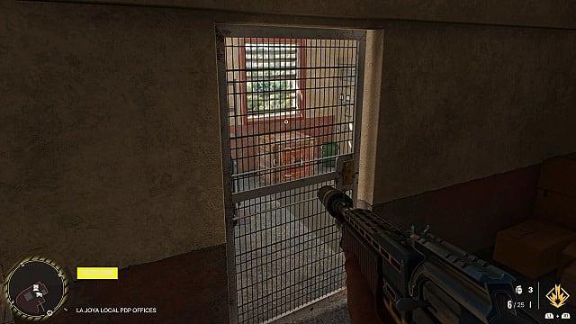 Screenshot of El Huevo in-game location.