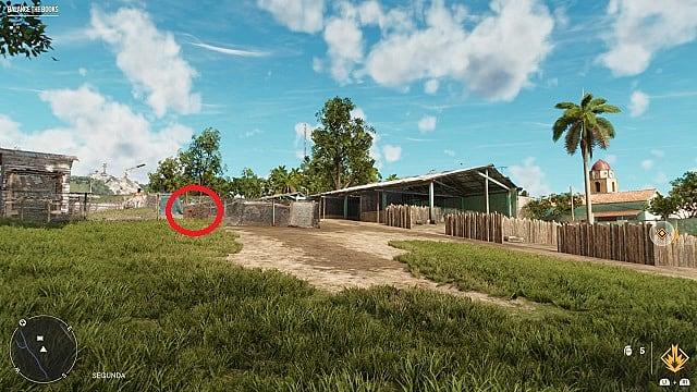 Screenshot of La Muerta Negra's in-game location.