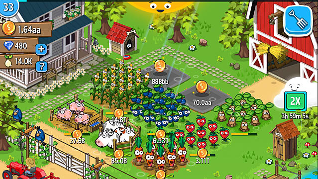 Farm Away! - Beginner's guide to idle farm your way to