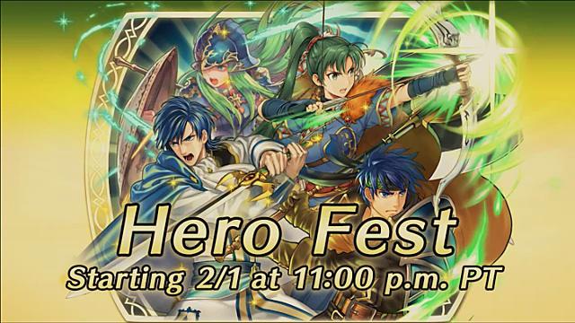 Fire Emblem Heroes Hero Fest ad