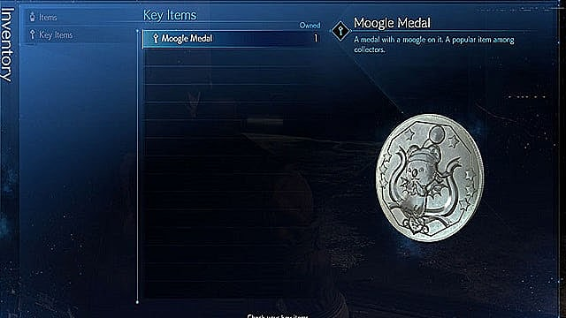 Final Fantasy 7 Remake's Moogle Medals don't currently serve any purpose.