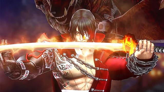 Zangetsu showing his fire blade