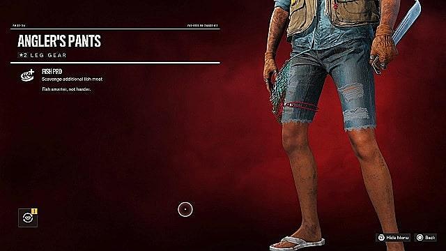 Angler's pants.