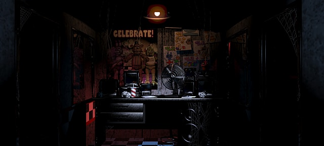 Five Nights at Freddy's builds suspense by limiting player mobility