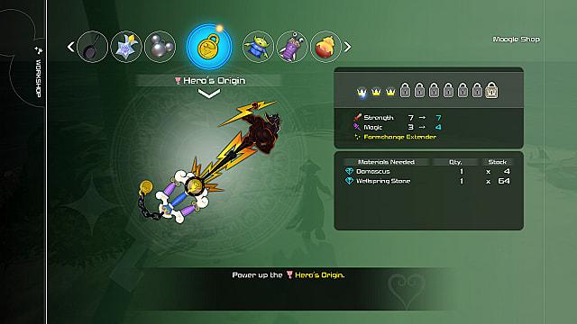 kingdom hearts 3 formchange extender ability