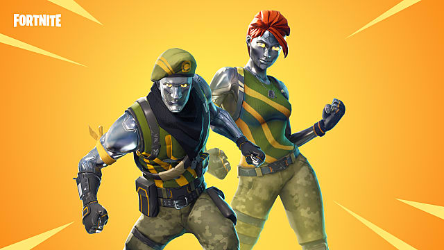 Fortnite Leaked Skins Flytrap Chrome Commandos and More