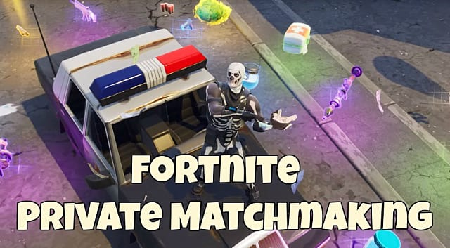 how to use the custom matchmaking key in fortnite battle royale