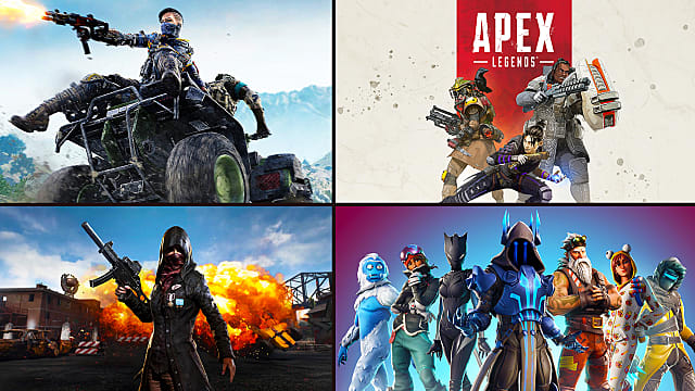 Battle Royale Breakdown: Fortnite, PUBG, Blackout, Apex Legends ...
