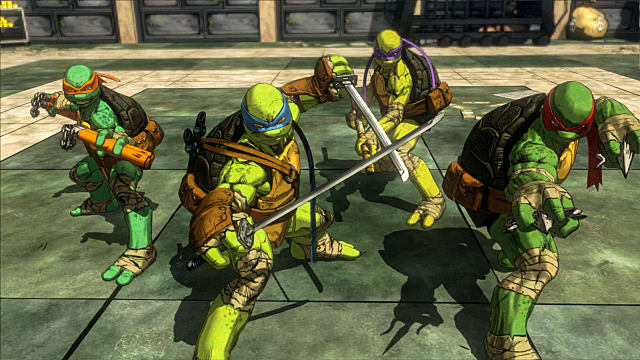 Platinum Games Teenage Mutant Ninja Turtles: Mutants in Manhattan