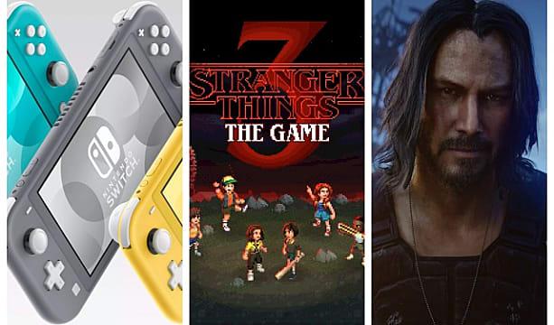 Gameskinny Weekend Download Nintendo Switch Lite Stranger Things 3 Cyberpunk 2077 More