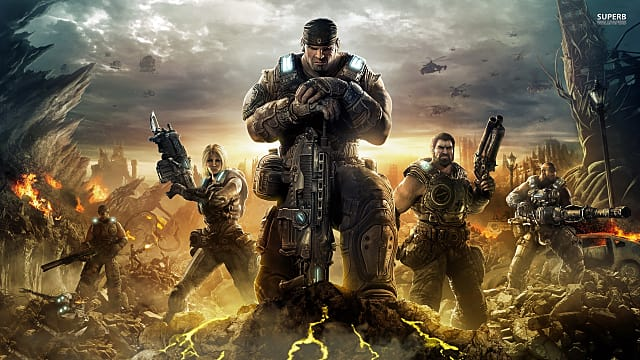 Image result for GEARS OF WAR 3