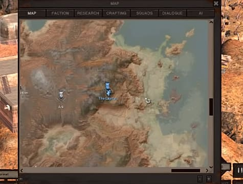 Greenbeach map.