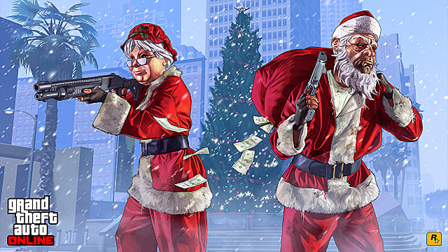 GTA Online Festive Surprise 2019 Expected to Arrive Soon