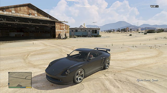 GTA 5 Vehicle Spawn Pfister Comet