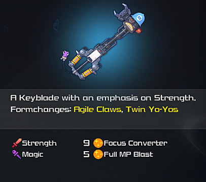 kh3 happy gear keyblade