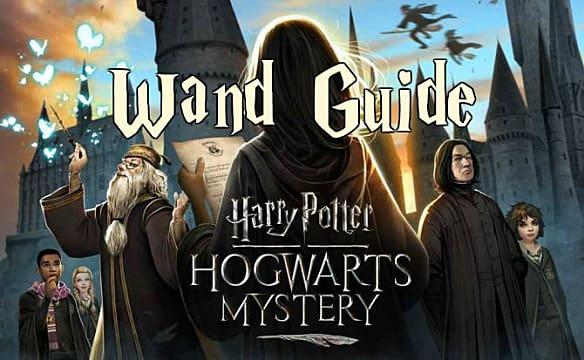 Harry Potter Hogwarts Mystery Wand Choice Starter Guide Harry Potter Hogwarts Mystery