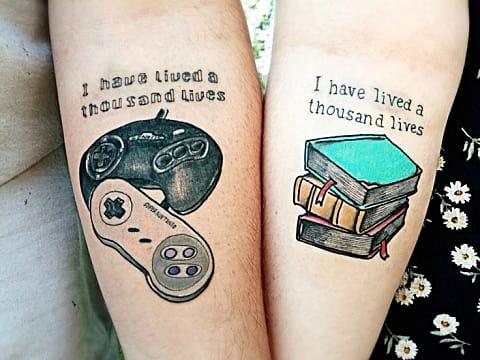 Tattoo gaming