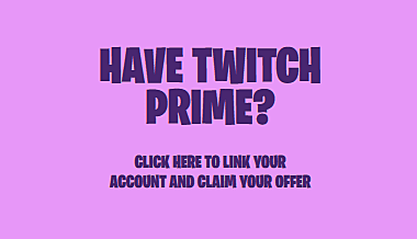 Link Twitch Prime and Fortnite