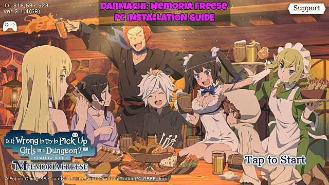 How to Play DanMachi: Memoria Freese on PC | DanMachi