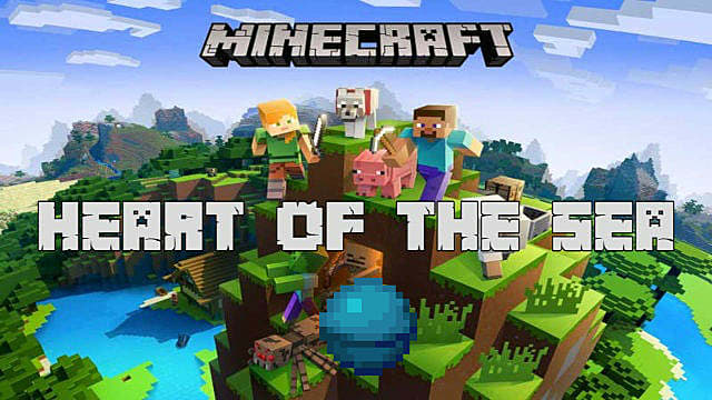 The Heart Of The Sea In Minecraft Explained Minecraft