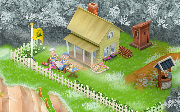 Hay Day Guide How to Set up Farm Helpers Rose and Ernest to Produce Goods While You're Away