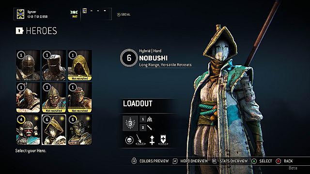 For Honor heroes