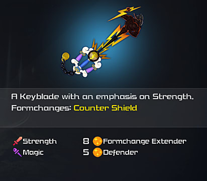 kh3 hero's origin keyblade