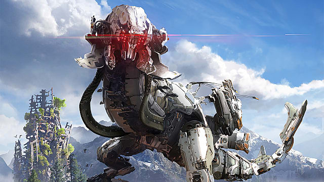 horizon zero dawn, combat, bow