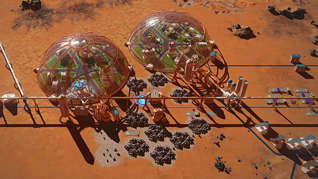Surviving Mars Waste Rock Amp Dealing With The Problem