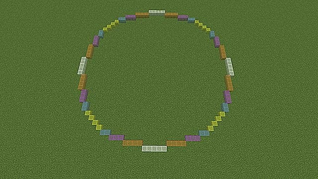 How to Make Circles in Minecraft Minecraft
