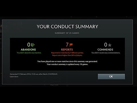 Dota 2 What Is Behavior Score And How To Check It