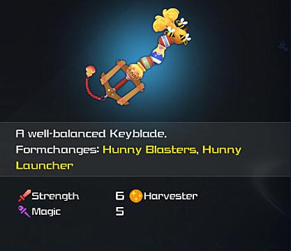 kh3 hunny spout keyblade